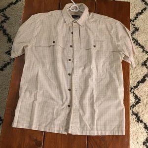 Patagonia Mens Short Sleeve Button Up Shirt